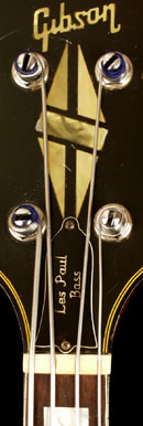 Gibson Les Paul Triumph bass headstock
